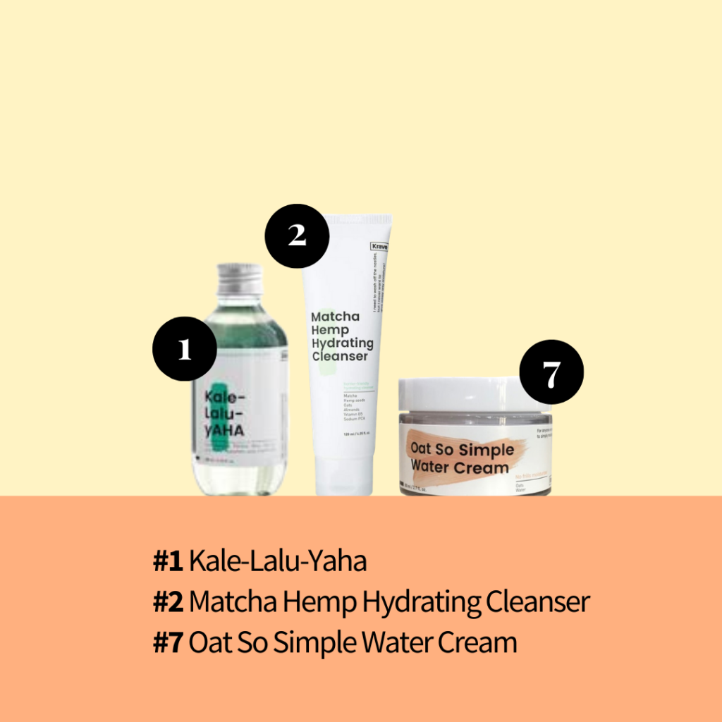 Krave Beauty popular skincare products