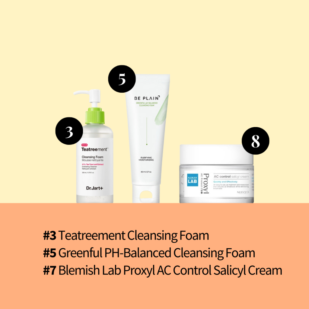 Acne fighting most picked