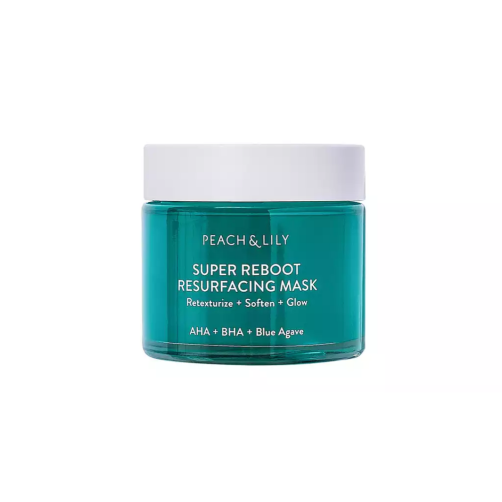Peach & Lily - Super Reboot Resurfacing Mask contains hyaluronic acid