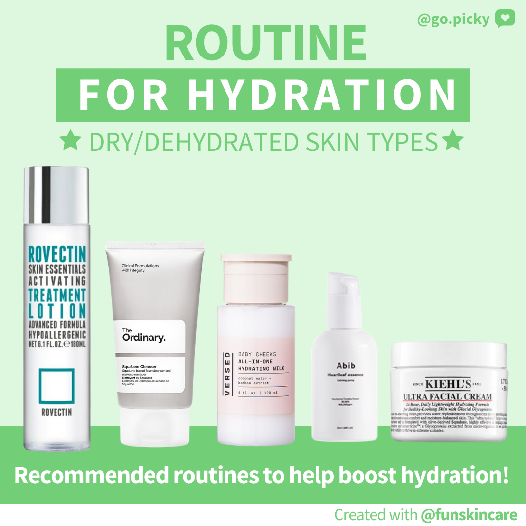 Hydrating Routine