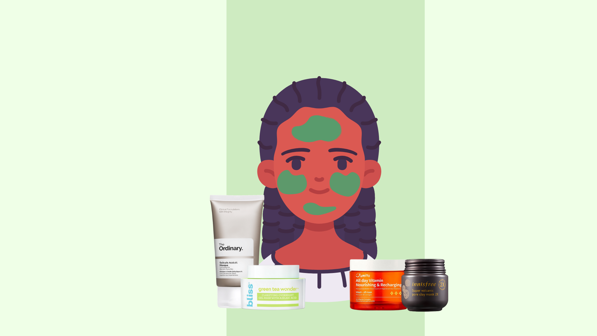 Top Masks For Oily Skin!